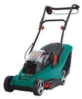 bosch rotak 34 li 36v cordless rotary lawn mower compare prices and reviews. Black Bedroom Furniture Sets. Home Design Ideas